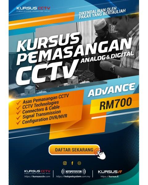 Kursus Pemasangan CCTV (Advanced) (2 Hari)